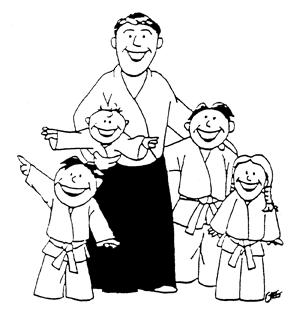 Aïkido en famille