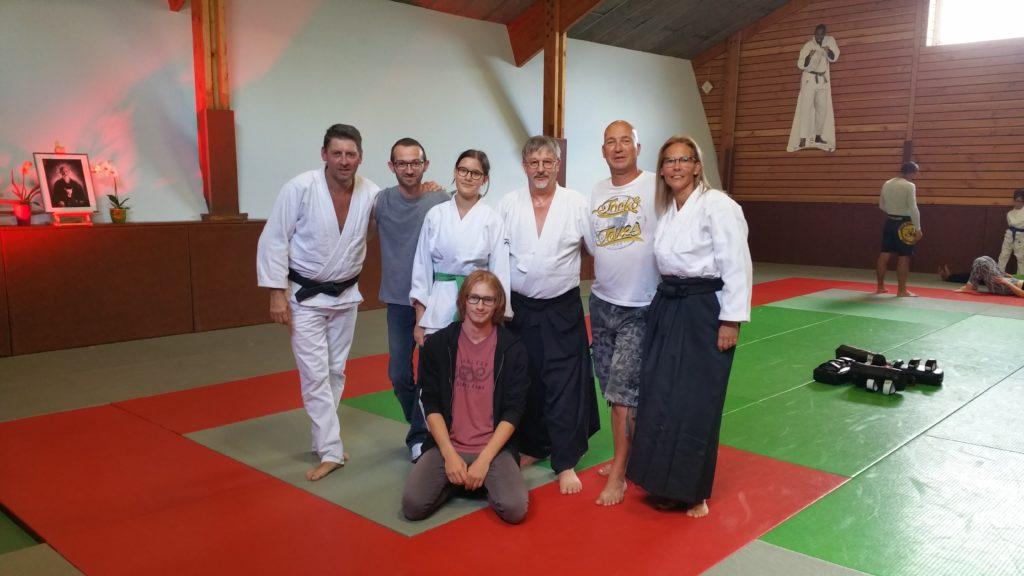 Venez essayer un cours d'Aïkido