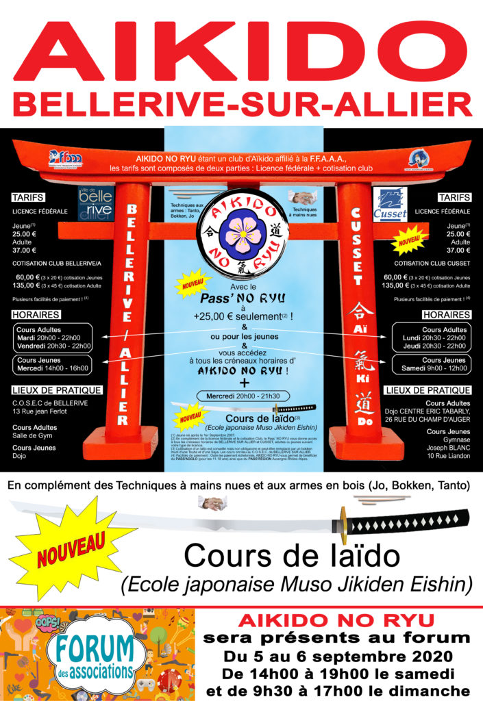 AIKIDO BELLERIVE FORUM ASSOCIATIONS