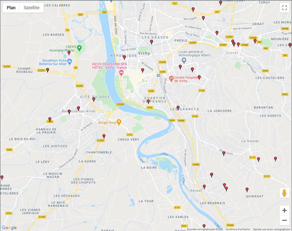 Aïkido Vichy, Cusset et Bellerive sur Allier